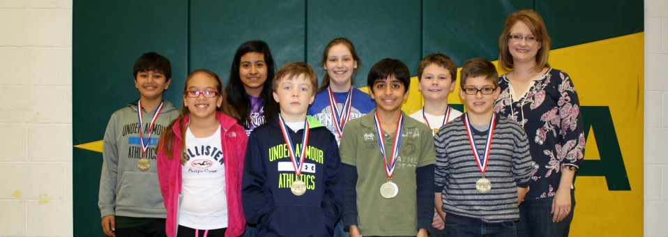 Congratulations to our lower school academic team! They came in second overall at the Region 4 Governor's Cup Academic Competition.