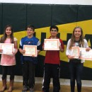 These UHA students sere smongst the winners of the New Era's literature contest!