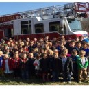 On Friday, December 13th the Fire Department came and collected two truckloads of toys!  Good job everyone!!!