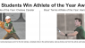 UHA Students Win Athlete of the Year Awards