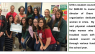 UHA's student council presented a check for $600.00 to Joanna Mack, executive director of Grace and Mercy, an organization dedicated to empowering women in crisis.
