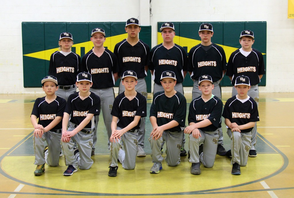 UHA MS baseball 2016