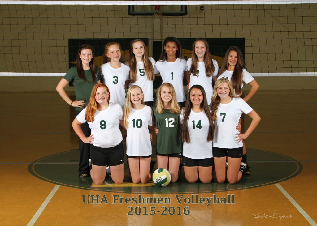 freshman volley